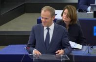 Tusk-and-Juncker-disscuss-outcomes-of-EU-summit-with-MEPs-Live
