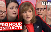 Zero Hour Contracts: Freedom or Exploitation? | Question Time – BBC