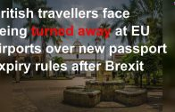 Britons-travelling-to-EU-will-face-strict-red-tape-due-to-Brexit